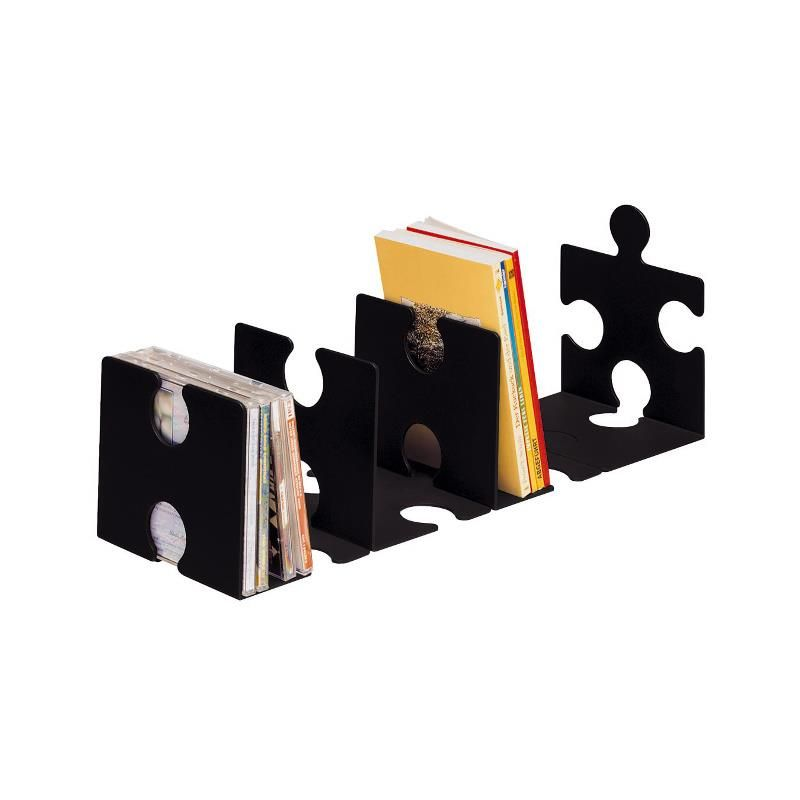 cd st nder buchst tze puzzle verkettbar set mit 2 st ck schwarz papierhaus ihr fachmarkt. Black Bedroom Furniture Sets. Home Design Ideas