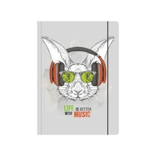 A4 Sammelmappe Music Rabbit